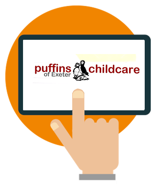 Puffins of Exte's Connect Childcare software case study logo