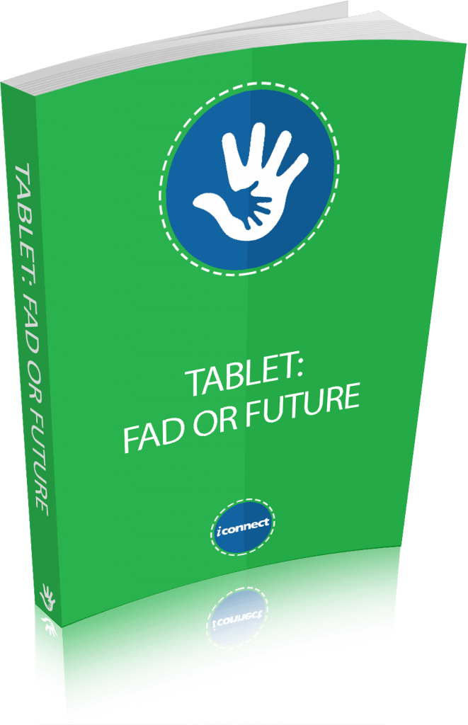 Ebook Cover for Tablet fad or future