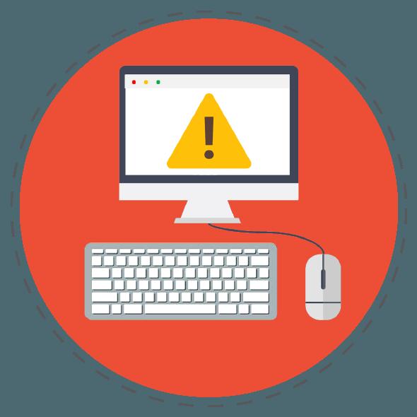error on computer