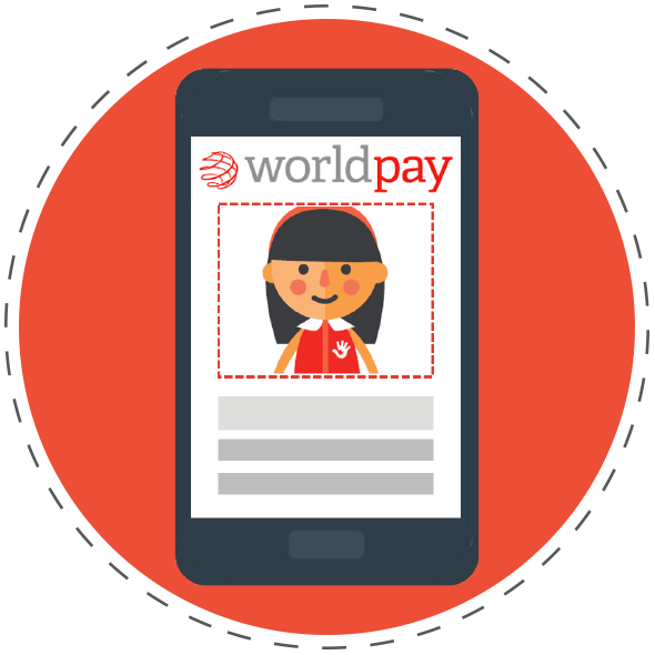 Worldpay on phone