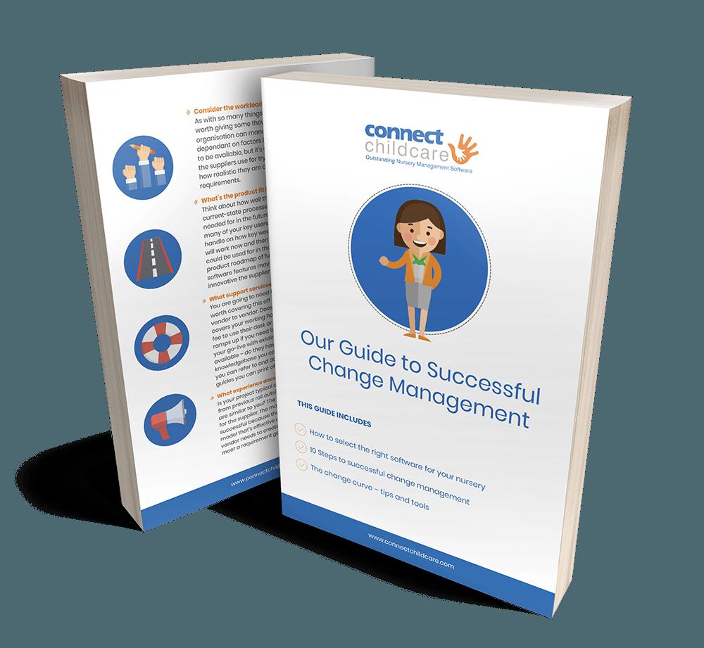 Change Management Ebook Cover