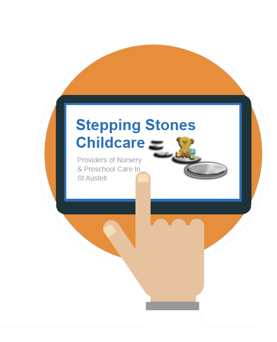 Stepping Stones Logo Tablet Graphic