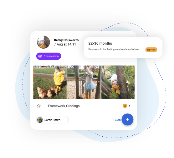 Instant updates for parents