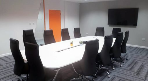 Connect Childcare's boardroom