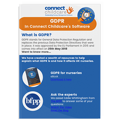 GDPR in the software document