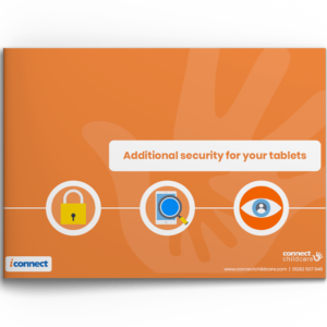 Additional Security for your tablets document image