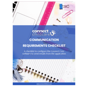 Connect Childcare email communication recommendations