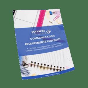 Communication Requirements Checklist