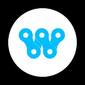 Bikeworks icon in Circle