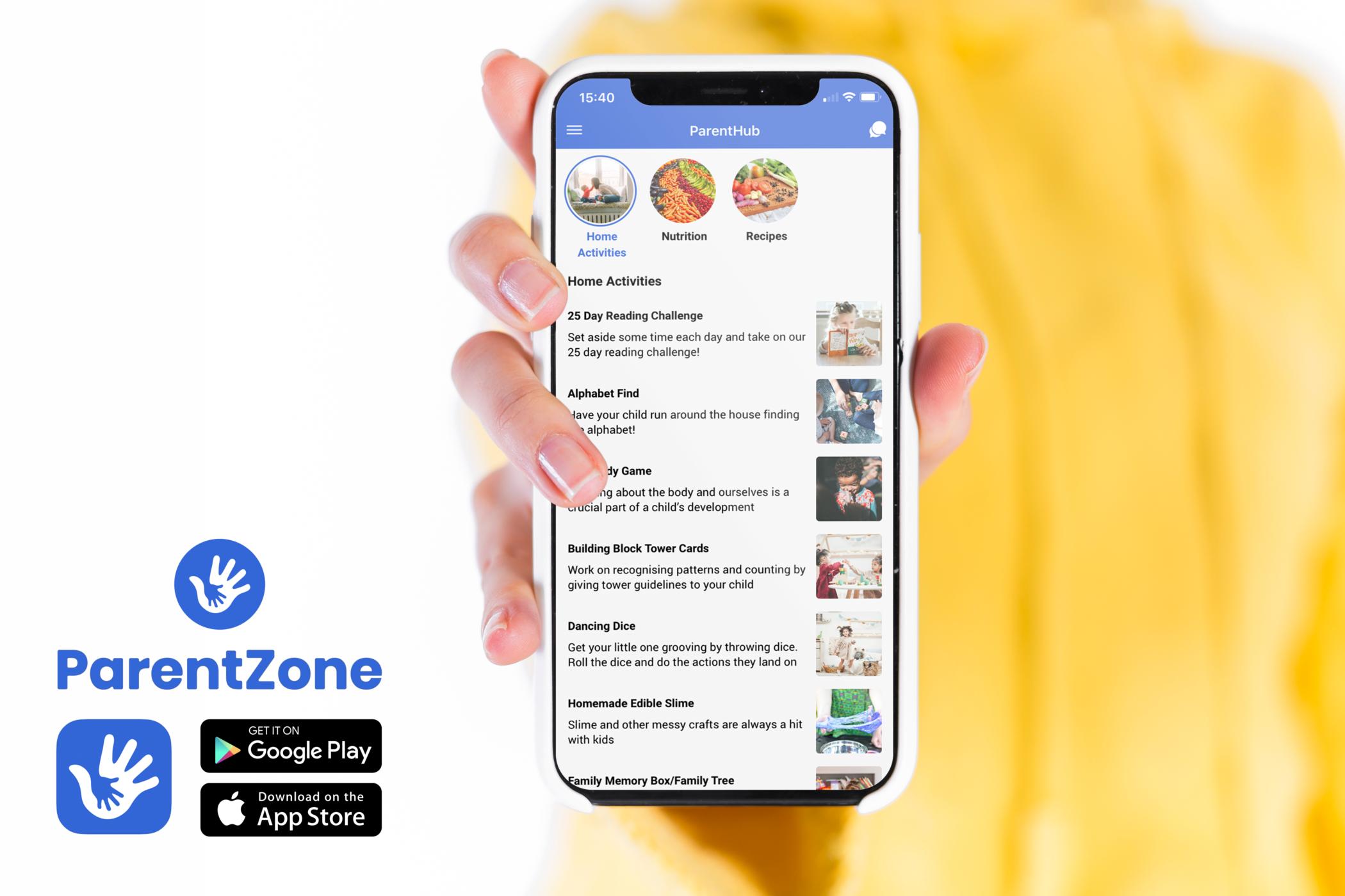ParentHub app