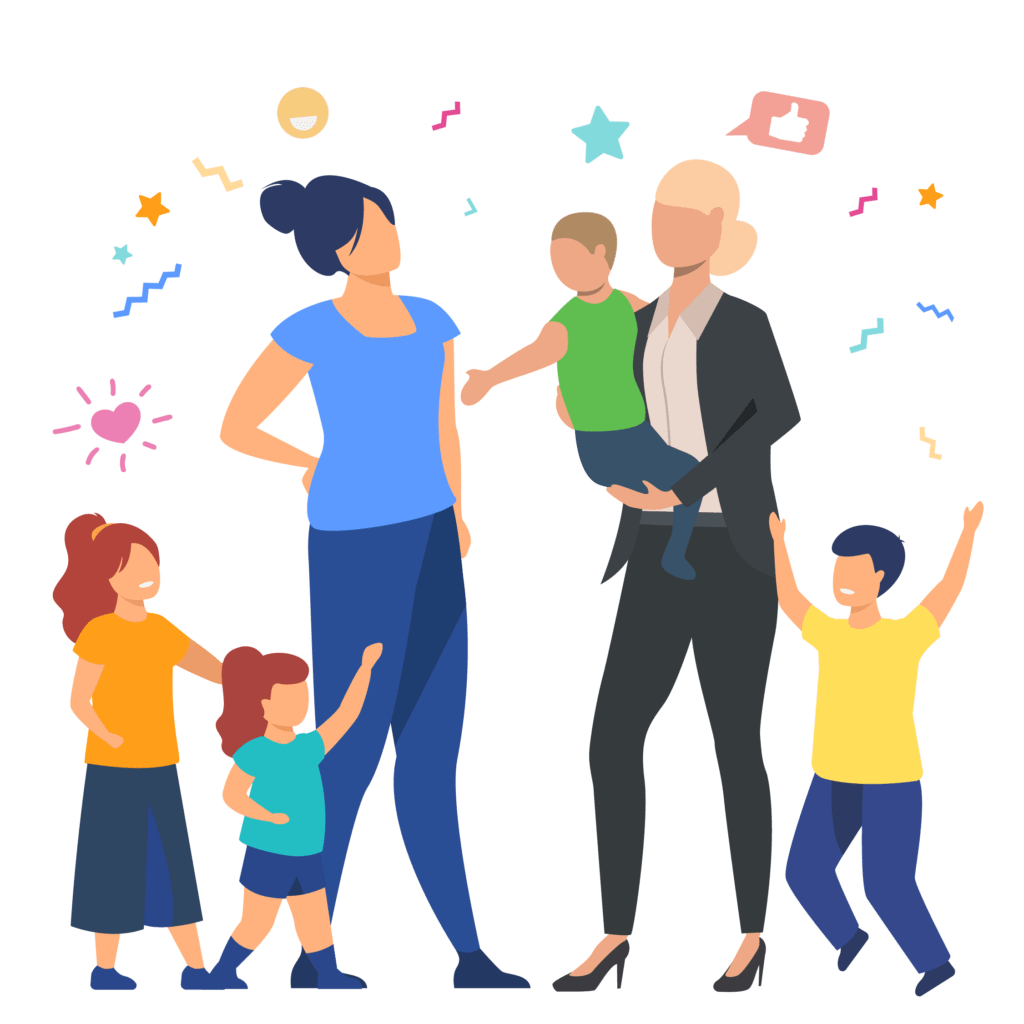familiarity with children
