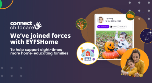 We've joined forces with EYFSHome to help support eight-times more home-educating families