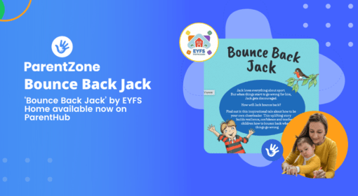 EYFS Home – Bounce Back  Jack Day available on ParentHub