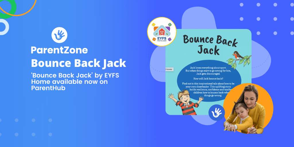 'Bounce Back Jack' by EYFSHome available now on ParentHub​