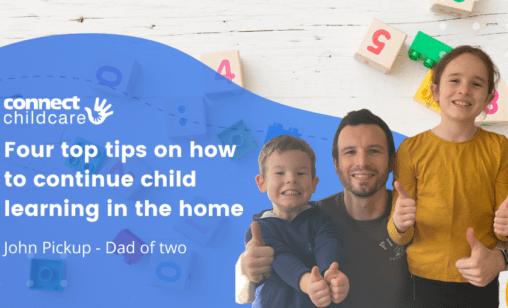 John Pickup - tips for learning at home