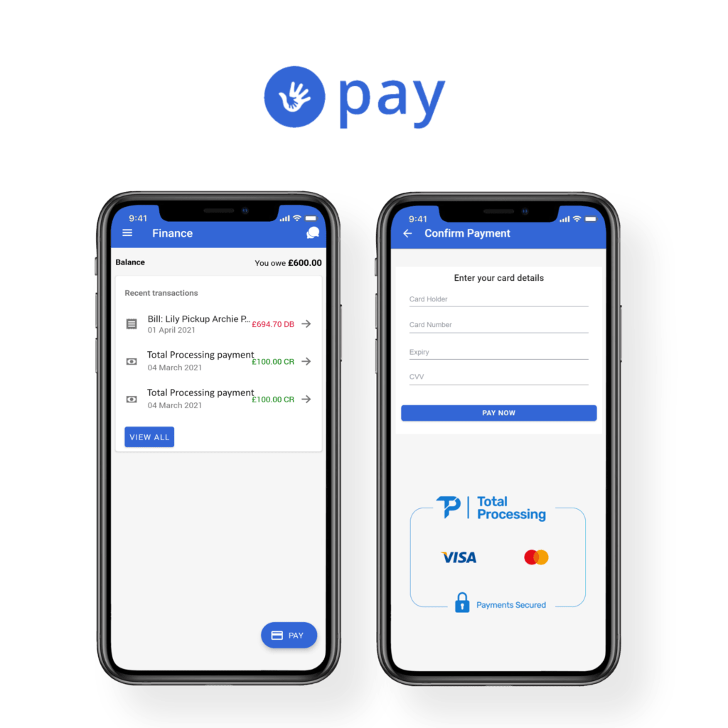 Contactless Payments in ParentZone