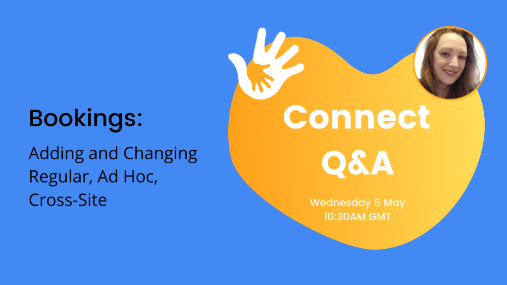 Connect Q&A - Bookings