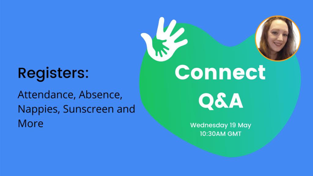 Connect Q&A - Registers