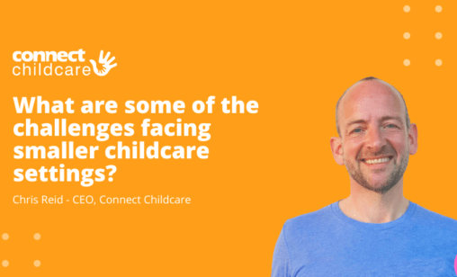 What are some of the challenges facing smaller childcare settings?