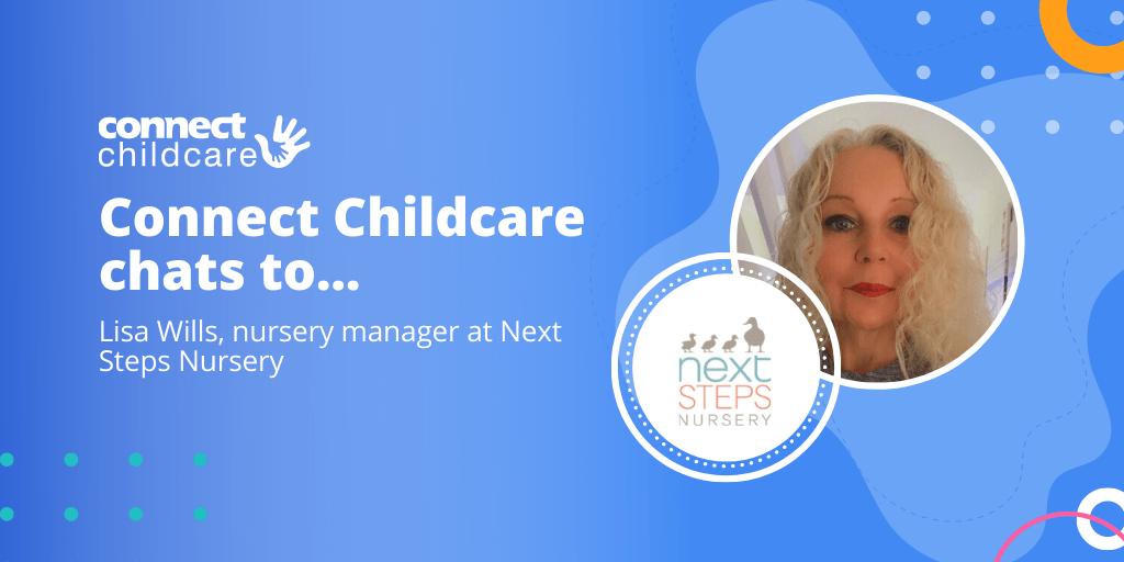 Lisa Wills, nursery manager at Next Steps Nursery